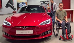 Genny Mono R and a Tesla