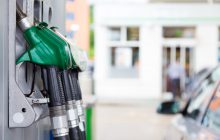 MyHailo - Fuel pump in a petrol station.
