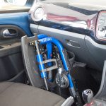 Champion SK in Seat Mii footwell