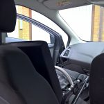 K-Series on car front seat (internal)