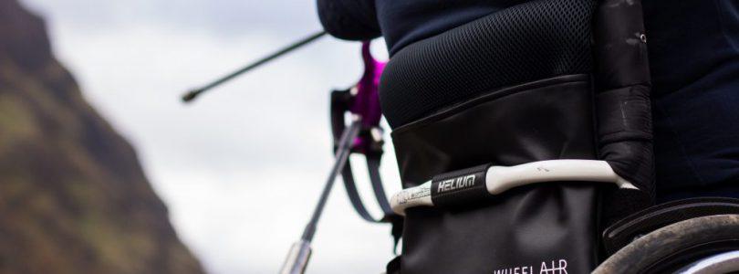 wheelAir on a wheelchair with archer
