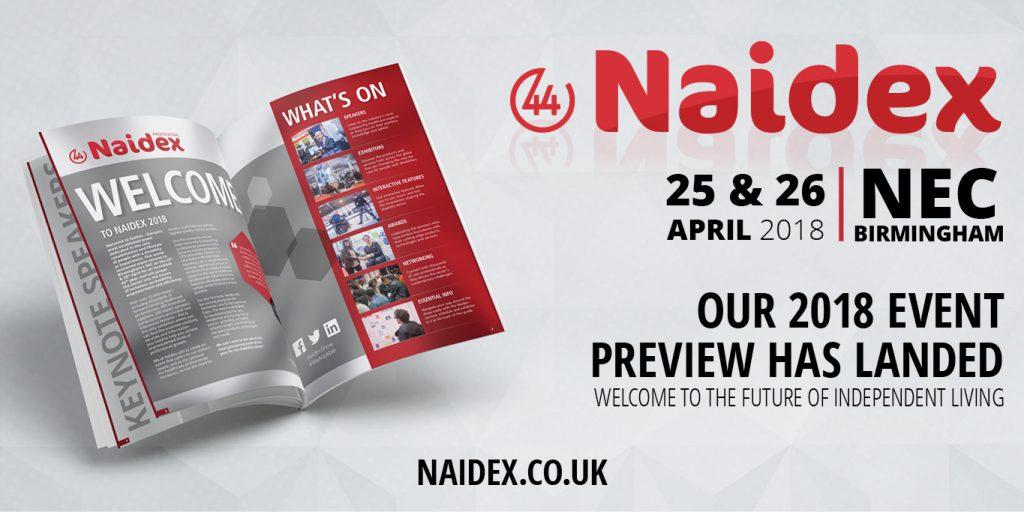 Naidex44 showguide announced
