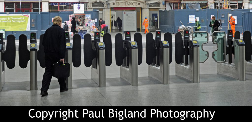 Ticket Barriers - Copyright Paul Bigland Photography