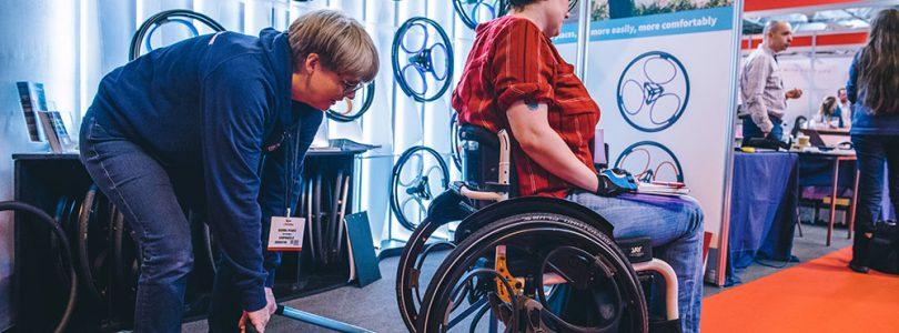 Wheelchair show soon - Naidex is next week