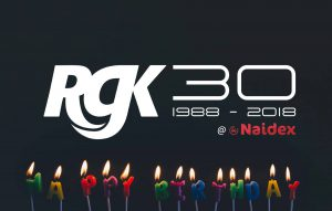 Two weeks to go until Naidex44 - RGK Birthday
