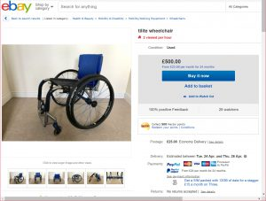 TiLite ZrA - Rigid lightweight wheelchair under £1000 challenge