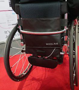 wheelAIR on wheelchair