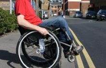 Freedom Wheelchair Skills - Kerb drop