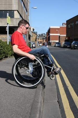 Freedom Wheelchair Skills - Kerb drop
