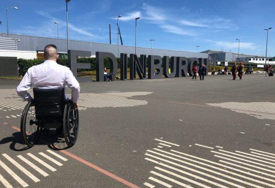 wheelAIR at Edinburgh Airport