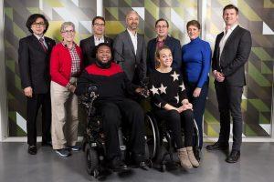 Mobility Unlimited Challenge judges