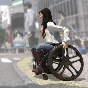 Phoenix AI Wheelchair - (C) Simon McKeown